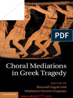 Choral Mediations in Greek Tragedy
