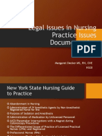 NYS Legal Issues in Nursing Practice