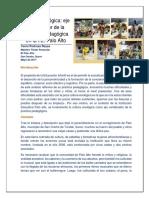 Cultura Ecológica Eje Vertebrador de La Practica Pedagógica (Yeni Pedroza)