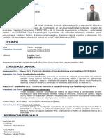 CV- Jorge Santamaria