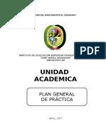 Plan de Practica 2017