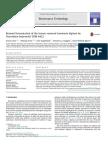 Butanol fermentation of the brown seaweed Laminaria digitata by Clostridium beijerinckii DSM-6422