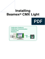 Beamex CMX Light Demo Installation Instructions