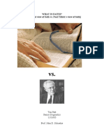 What is Faith (Ref Paul Tillich)