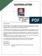 Application Letter & Cv