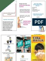 Leaflet Etika Batuk Doc