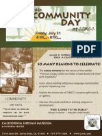 Celebrate Community Day at CIMCC
