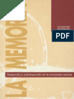Desarrollo y Subdesarrollo de La Economía Canaria