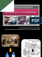 EBM-Diagnosis and Screening Block 5 UNTAD