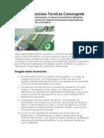 Guía de Soluciones Sistema de Cableado Convergente