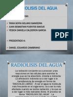 Radiolisis Del Agua (1)