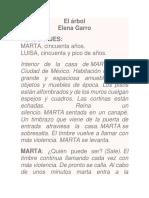 GARRO, Elena-El Arbol