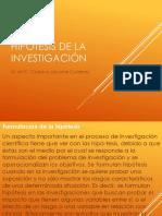 Hipótesis de la investigación.pptx