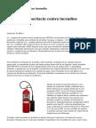 sistemas fijos contra incendio