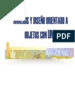 Sesion 02 - Analisis y Diseño Orientado a Objetos - Teoria