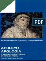 Apuleyo, Apología (Latín)