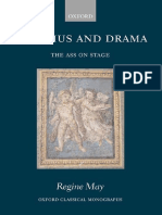 Regine May, Apuleius and Drama. the Ass on Stage (Inglés)