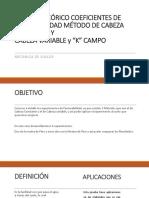 Informe Teórico Coeficientes de Permeabilidad Método de Cabeza