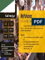 MyPuhunan - Flyer