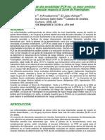 Pcr - Marcador de Riesgo Enfermedad Cardiovascular