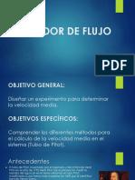 Ppt Medidor de Flujo1