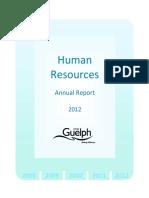 2012AnnualReport_HumanResources