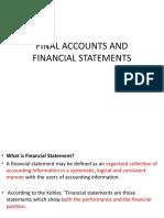 Final Accounts