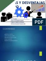 CCM VENTAJAS Y DESVENTAJAS DE LA APO.pptx