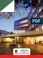 2017 Undergraduate Brochures