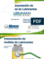 Interpretacion Analisis Lubricantes Uruman 2014 Copia