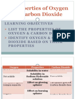 5.2 Properties of Oxygen and Carbon Dioxide
