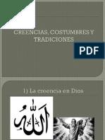 Creencias, Costumbres y Tradiciones Islam