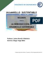 Unidad 1 - La Introduccion Al Desarrollo Sustentable