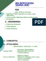 Anemia Infecciosa Equina.