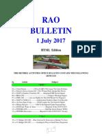 Bulletin 170701 (HTML Edition)