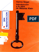 Introducción a la obra de Melanie Klein