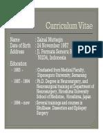 Intracranial Pathophysiology, Zainal M