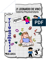 3ro - Agosto - Trigonometría