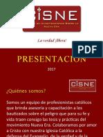 CISNE PRESENTACIÓN 2017
