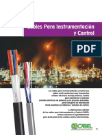 Cables Para Instrumentación y Control