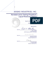 Certification Ndt 200 v2 Mogas Lpt Procedure