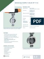 HIGH PERFORMANCE BUTTERFLY VALVE HP 111-E.pdf