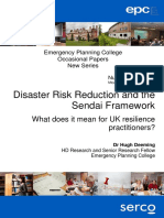 OP21 Disaster Risk Reduction May 2017
