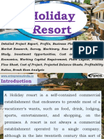 Holiday Resort Detailed Project Report, Profile, Business Plan, Industry Trends, Market Research, Survey, Machinery, Raw Materials, Feasibility Study, Investment Opportunities, Cost and Revenue, Plant Economics, Working Capital Requirement, Plant Layout, Process Flow Sheet, Cost of Project, Projected Balance Sheets, Profitability Ratios, Break Even Analysis