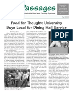 Fall 2002 Passages Newsletter, Pennsylvania Association for Sustainable Agriculture