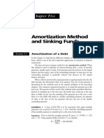 Amortization and Sinking Funds