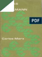 Carlos Marx Cartas a Kugelmann