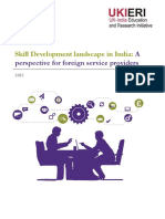 UKIERI-3Nov2015- Skill Development Landscape in India- Perspective for Foreign Service Providers