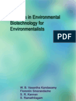 Environmental Biotechnology for Environmentalists, by W. B. Vasantha Kandasamy, Florentin Smarandache, S. R. Kannan, S. Ramathilagam