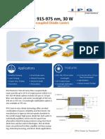 PLD-40 Laser Diode Datasheet
